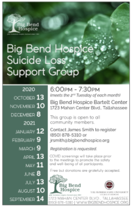 Suicide Loss Support Group