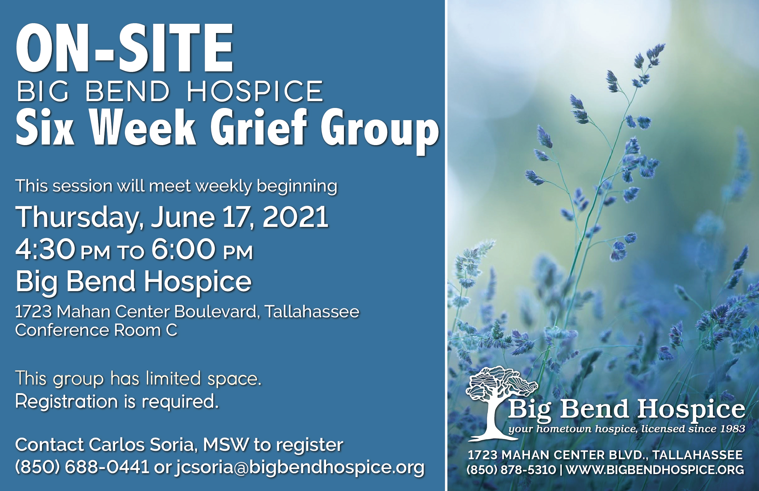 6 Week Grief Group June 2021
